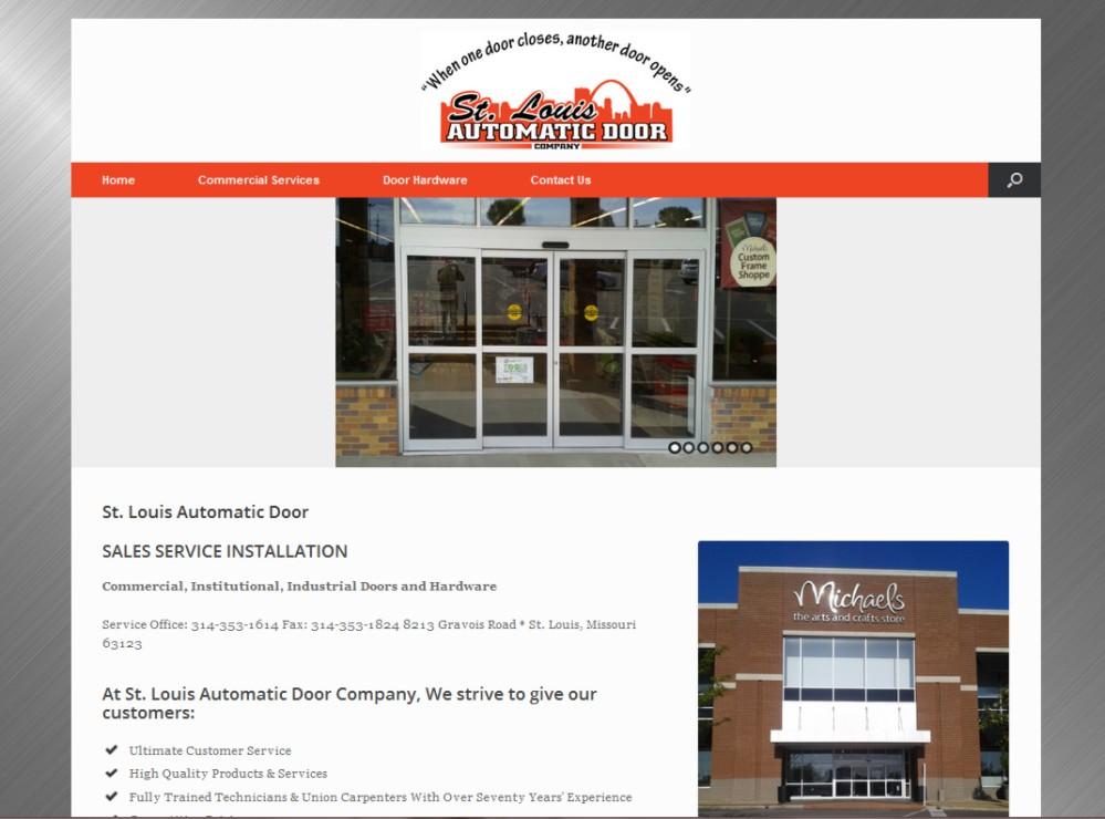Web Design St Louis - St. Louis Automatic Door
