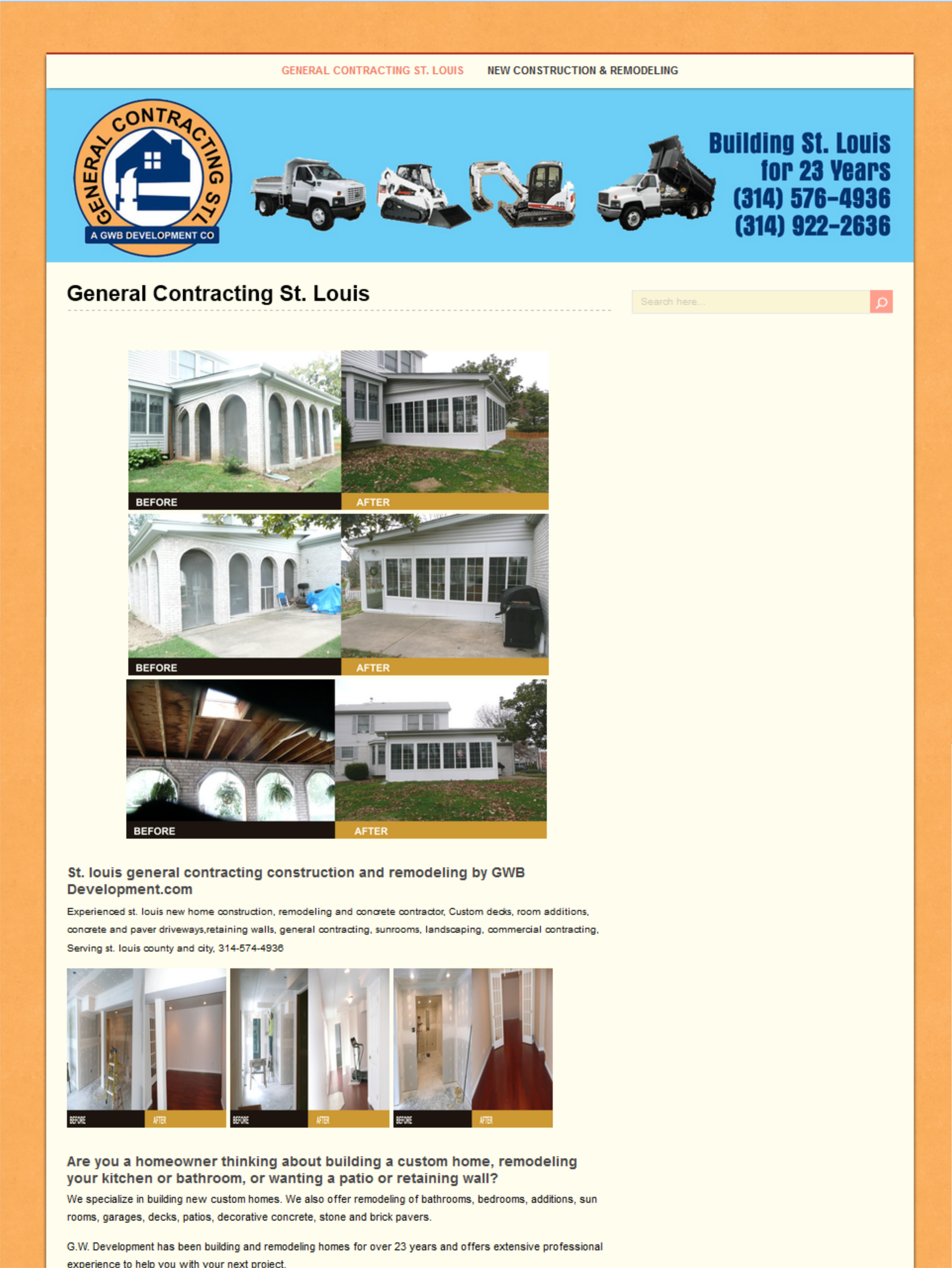 Web Design St Louis - St Louis General Contracting